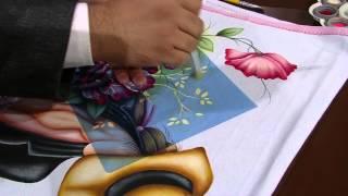 Pintura Country em tecido PT2