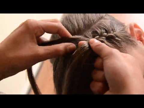 goedkoop kopen nieuwe foto's goedkoop voor korting Haarband vlecht - YouTube