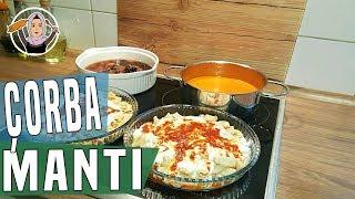 Kolay Mantı+Domates Çorbası Tarifi -iftar menüsü+Hatice Mazi