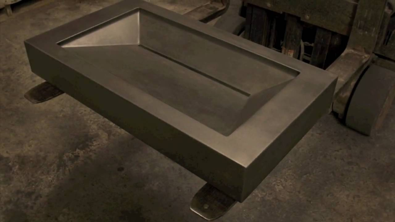 Good How To Make A Concrete Kitchen Sink #8: Concrete Sink Molds - Create Your Own Concrete Sink For Just $295 + S/h! -  YouTube