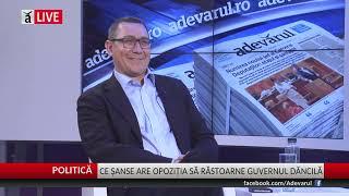 Victor Ponta despre cum poate fi dat jos PSD