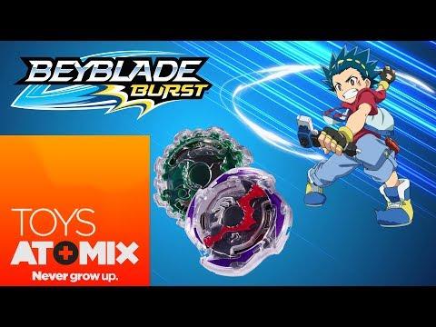 #AtomixToys – Los nuevos blades y estadio de Beyblade Burst