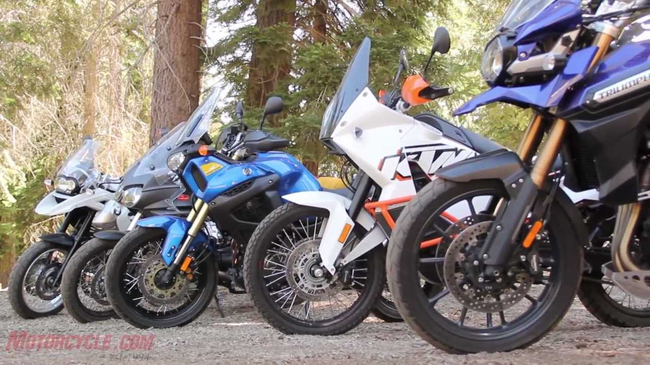 Adventure Touring Motorcycle >> 2012 Adventure Touring Motorcycle Shootout Youtube