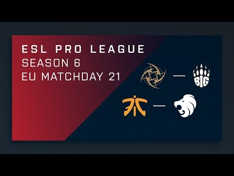 Download Youtube: CS:GO: NiP vs. BIG | fnatic vs. North - Day 21 - ESL Pro League Season 6 - EU Main Stream