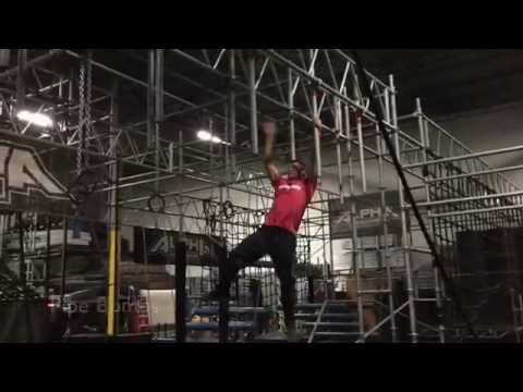 "Ninja Warrior Training with ""Mighty Kacy"" Catanzaro and Brent Steffensen"