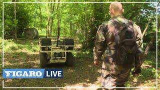 Drones terrestres, réalité virtuelle: l'armée teste les futurs outils du champ de bataille