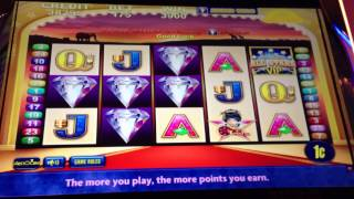 VIP All Stars-Aristocrat Slot Machine Bonus (Sun & Moon feature with retrigger!)