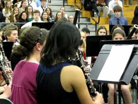 Pieces of Eight; district II middle school band 1/26/13