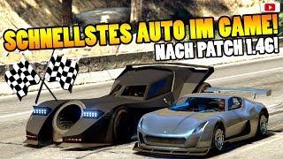 🏁🧐Schnellstes Auto In GTA 5 Online!🧐🏁Beschleunigung+Top Speed Test! [Arena War Update DLC]
