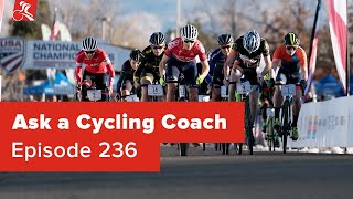 Fast Start Races, Recovery from Training Late, Cell Signaling and More - Ask a Cycling Coach 236