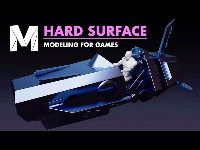Hard Surface Modeling for Games | Trailer