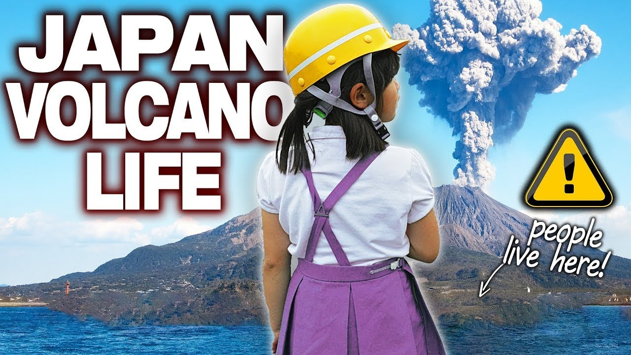 What Living on Japan's Most Active Volcano is Like