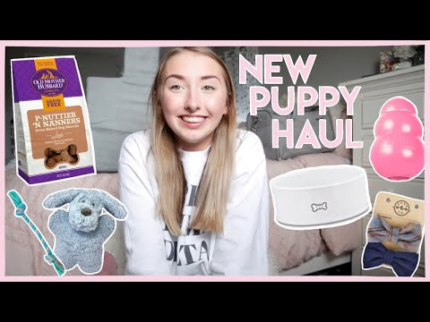Everything I Bought For My New Puppy | New Puppy Haul and Essentials