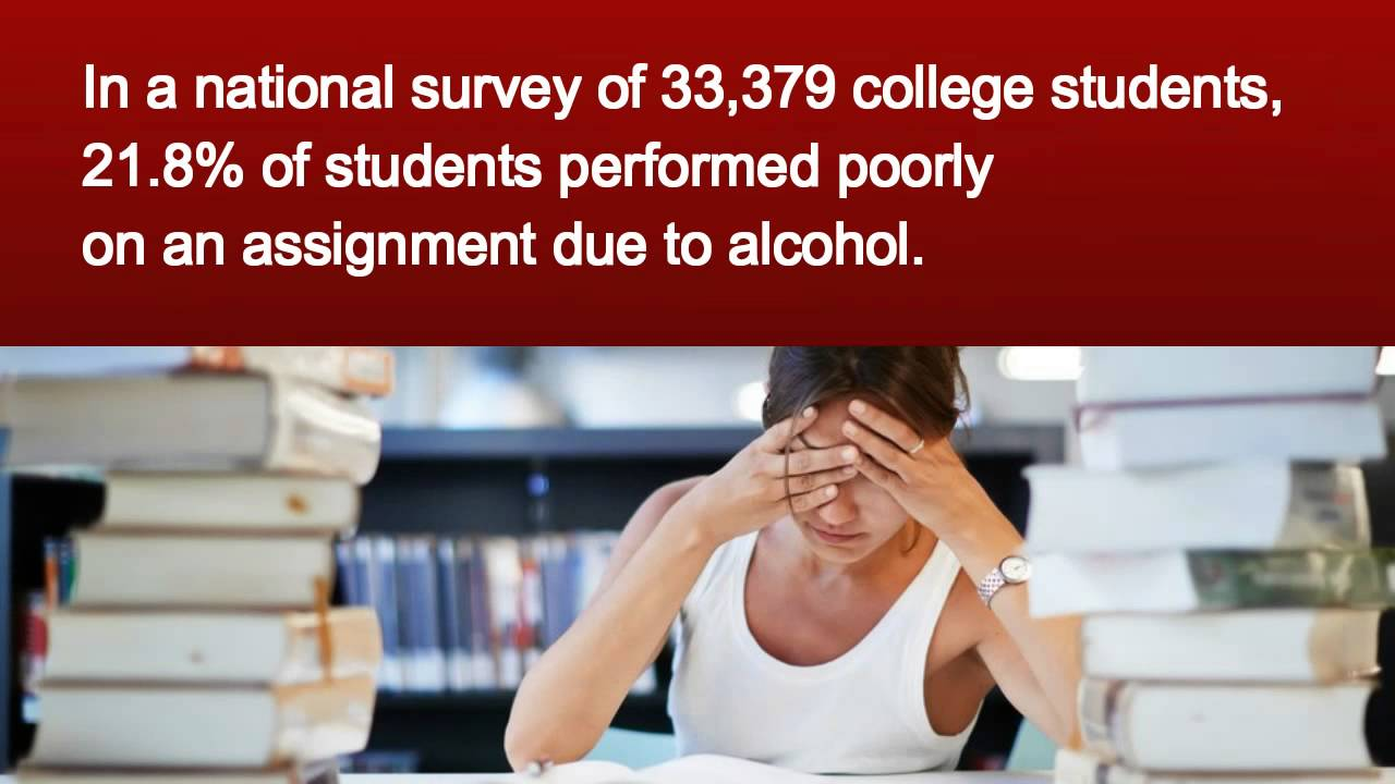 On Effects Students College Alcohol Youtube -