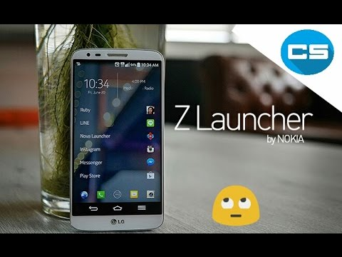 NEW LAUNCHER BY NOKIA {Z LAUNCHER}
