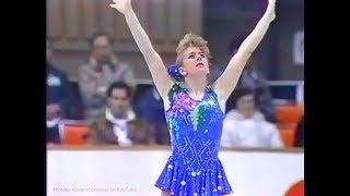 Tonya Harding / Тоня Хардинг / トーニャ・ハーディング 1990 NHK Trop...