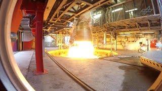 Prüfstand für Ariane-6-Oberstufe am DLR-Standort Lampoldshausen