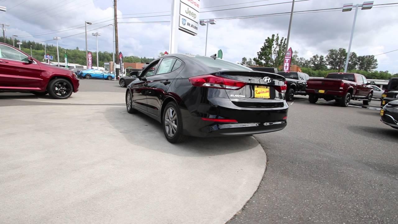 2017 Hyundai Elantra Se Phantom Black Hh072116 Mt Vernon Skagit