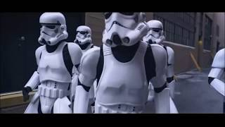 justin timberlake Stormtroopers Dance CAN'T STOP THE FEELING!