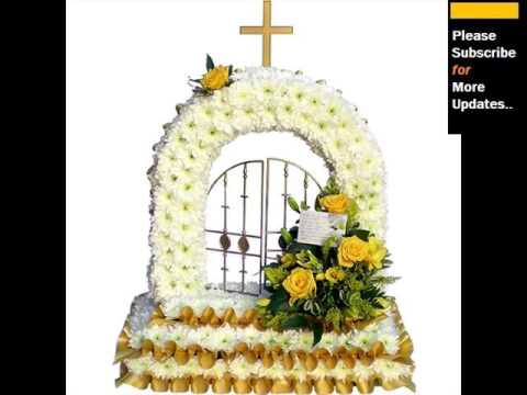 Funeral Flower Designs Ideas Flower Arrangements YouTube