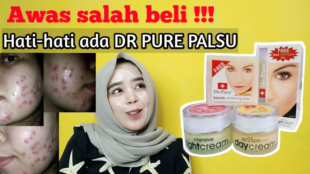 Harga Dr Pure Night Cream - Steve