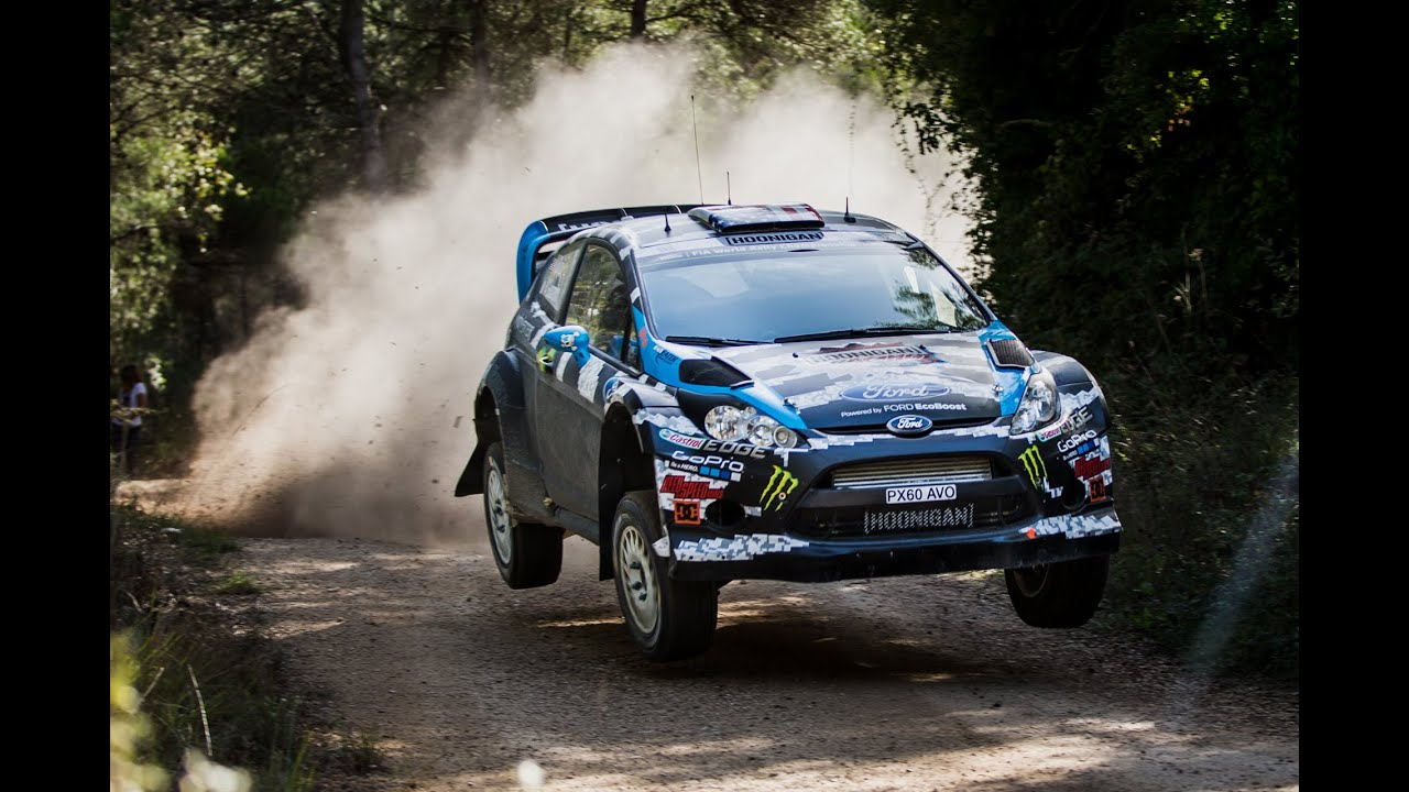 Ken Block And Alex Gelsomino Test For Wrc Spain 2014 Youtube