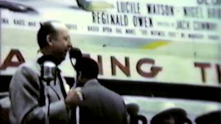 1948 Movie Opening in Kilgore, TX