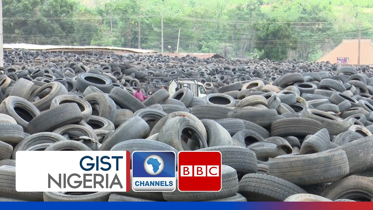 Download Nigerian Start Up Converts Scrap Tyres To Functional Products