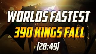 Destiny - 390 Kings Fall Speedrun WORLD RECORD [28:49]