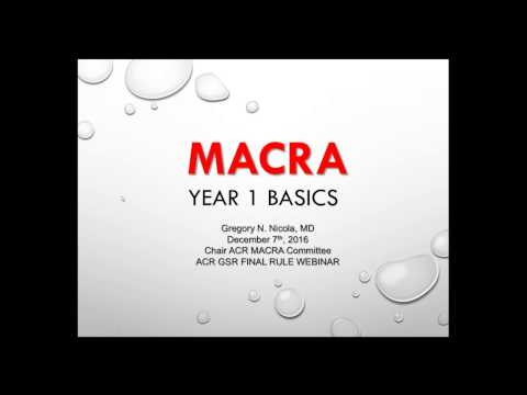 MACRA 101 for Small and Rural Practices