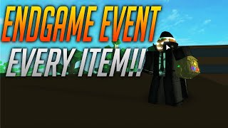 ENDGAME EVENT!! | HEROES ONLINE | ROBLOX