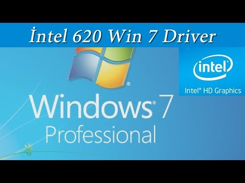 İNTEL HD  620 DRİVER WİNDOWS 7 X64 KURULUMU | Intel 620 Driver