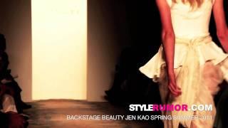 Jen Kao Spring Summer 2011 Backstage Beauty