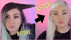 Bleaching my roots (FINALLY)