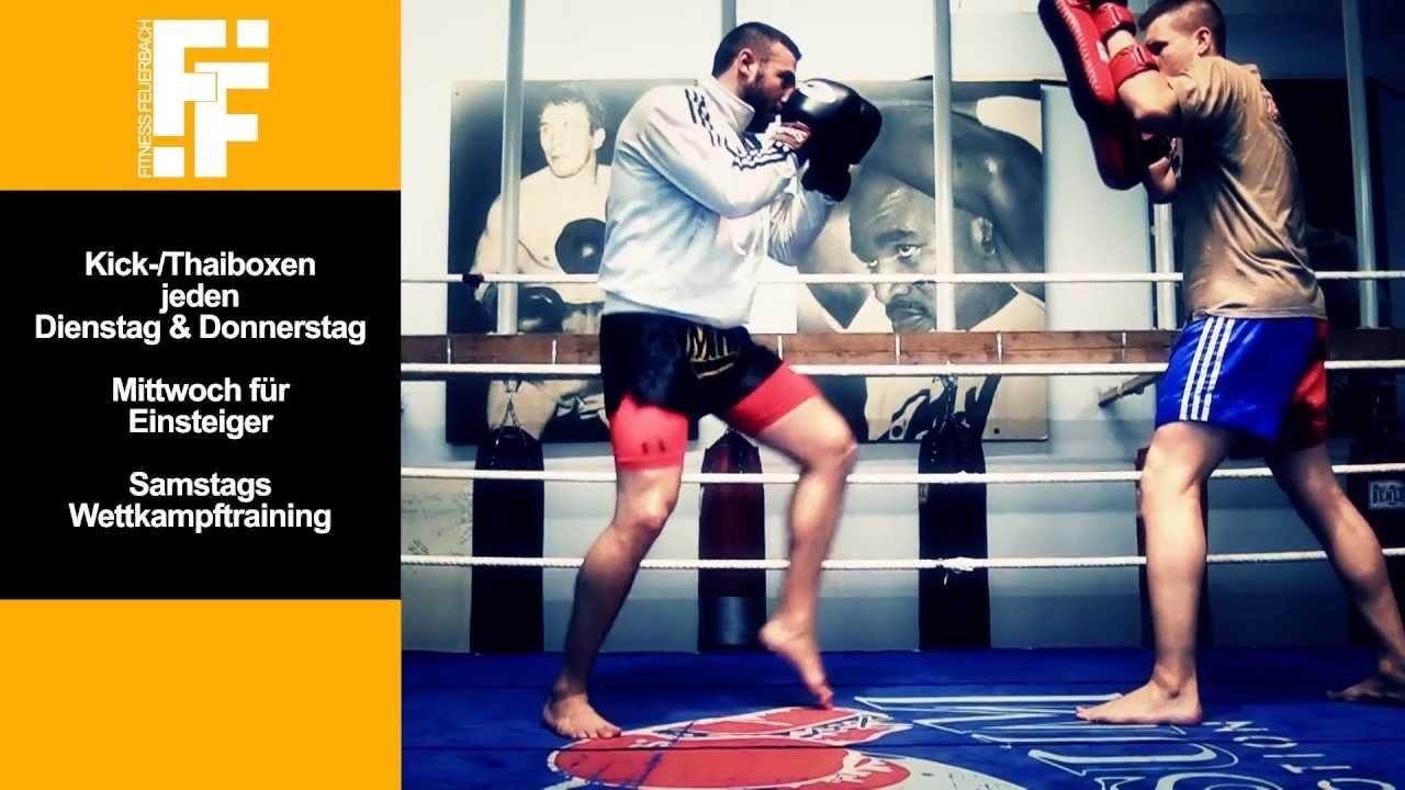 Fitness Studio Feuerbach - Impressionen Kick-/Thaiboxen-Training