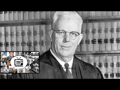 Supreme Court Chief Justice Earl Warren: A Profile of the Man