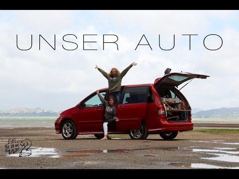 UNSER AUTO & ERSTER ROADTRIP   WORK&TRAVEL NZ - Woche 2