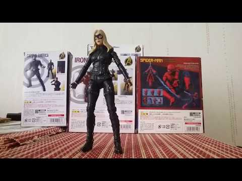 Dc action figure arrow tv series black canary review