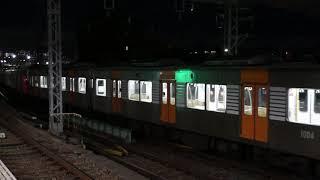 阪神1204F(大阪側ユニット)+1201F(大阪側ユニット)牽引入換