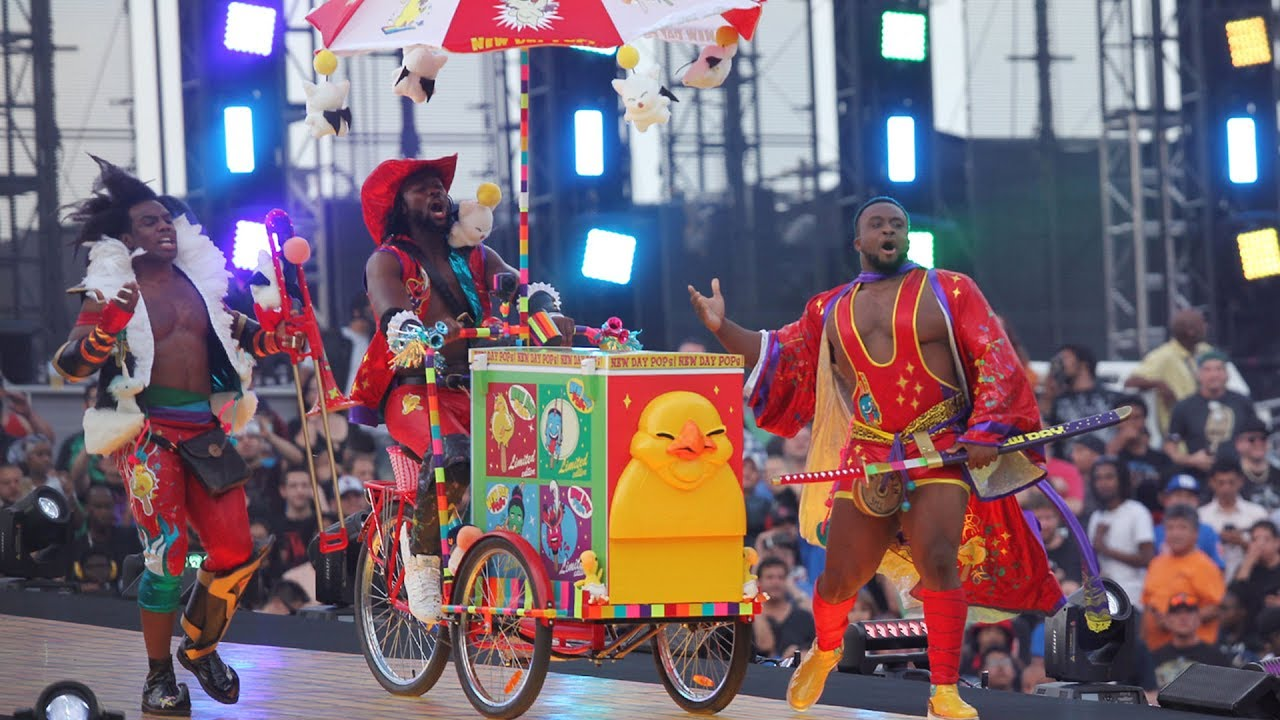 Download The New Day's WrestleMania 33 entrance makes it onto WWE Music Power 10 (WWE Network Exclusive)