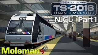 Train Simulator 2016 | North Jersey Coast Line Part 1 | NJTransit ALP-45DP