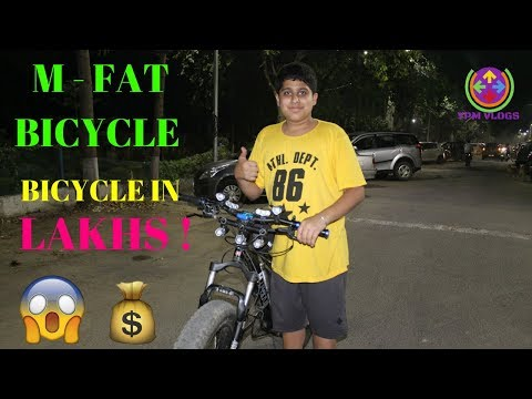 M-FAT BICYCLE   STUNTS ON FAT BICYCLE   FEATURES   FAT BIKER VAIBHAV  