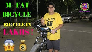 M-FAT BICYCLE | STUNTS ON FAT BICYCLE | FEATURES | FAT BIKER VAIBHAV |