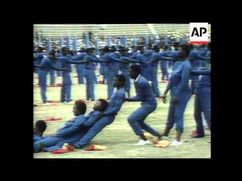 ZIMBABWE MARKS DECADE OF INDEPENDENCE from YouTube · Duration:  2 minutes 51 seconds