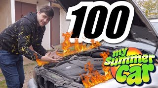 "Sekret SUKCESU ""My Summer Car""- My Summer Car #100 (SPECIAL)"