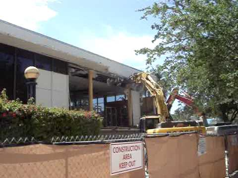 West Palm Beach Library Demo, Waterfront & City Commons Plaza Part 1