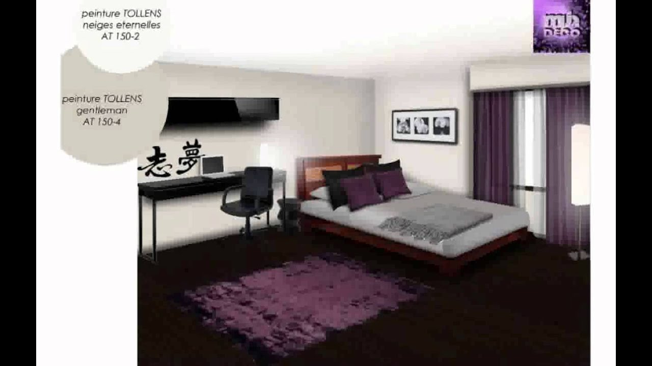 chambre d coration youtube. Black Bedroom Furniture Sets. Home Design Ideas