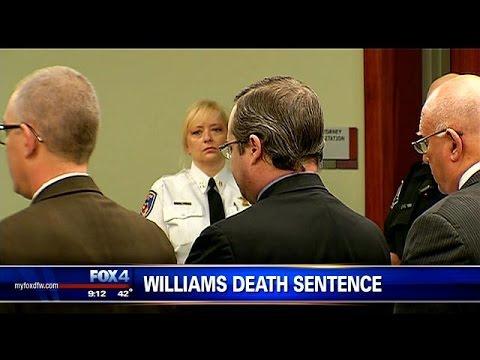 Eric Williams sentenced to death