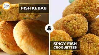 Fish Kabab and Croquettes Recipes by Food Fusion