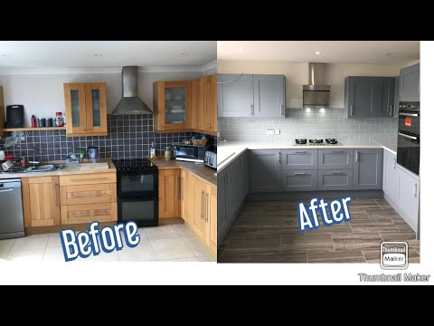 Kitchen Refit - Howden's Fairford Blue - Handy Fitting Guide